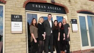 urban angels team navenby hair salon