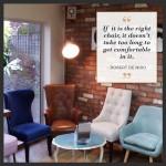 salon interior chairs at urban angels